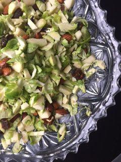Lækker salat med rosenkål